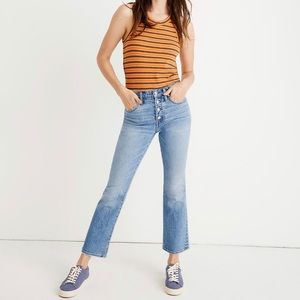Madewell Cali Demi-Boot Jeans | Dory Wash